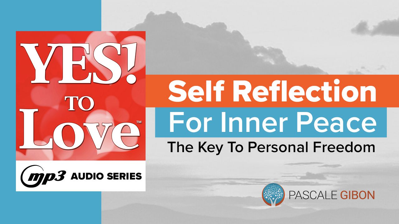 Increase your inner peace and well-being with this 3-step process as part of the YES! To Love For Inner Peace