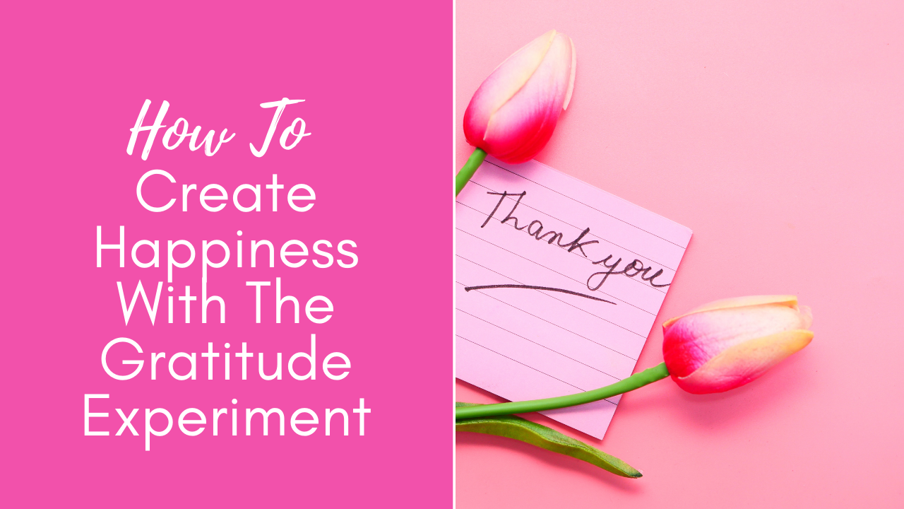 The everyday life balance show 204 - How To Create Happiness With The Gratitude Experiment - Pascale Gibon Blog