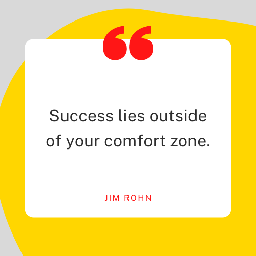 The Everyday Life Balance Show - 207 - Discover One Powerful Way To Achieve Your Purposeful Goal Faster - Success Lies Outside Of Your Comfort Zone- Jim Rohn Quote - Pascale Gibon Blog